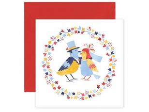 "Postcard ""Birds"""