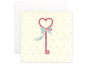 """Postcard """"A key"""""""