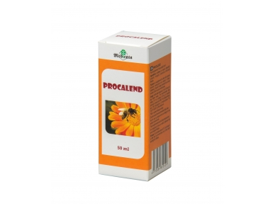 PROCALEND with bee propolis and marigold flowers