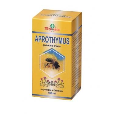 Geriamasis tirpalas su bičių pikiu ir čiobreliais APROTHYMUS, 100 ml