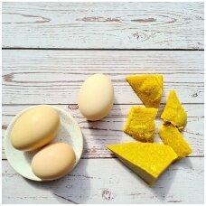 Kaip marginti kiaušinius bičių vašku?