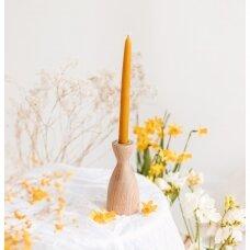 Klasikinė bičių vaško žvakė (24,5 x 2 cm)
