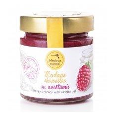 Medaus skanėstas su avietėmis, 50 g