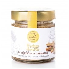 Medaus skanėstas su migdolais ir cinamonu, 200 g