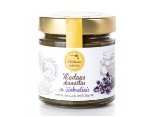Honey with thyme, 200 g