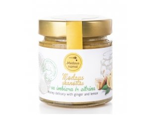 Honey with ginger and lemon, 50 g