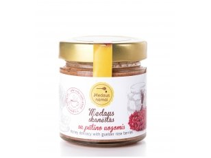 Honey with guelder rose berries, 50 g