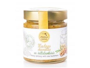 Honey with sea buckthorn, 50 g