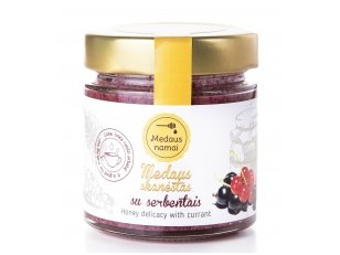 Honey with currant, 50 g