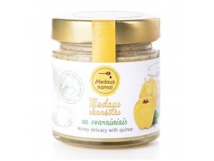 Honey with quince, 200 g