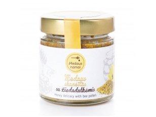 Honey with bee pollen, 200 g