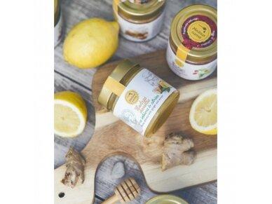 Honey with ginger and lemon, 200 g
