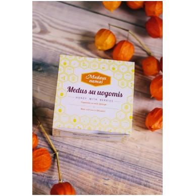 Medaus produktų rinkinys dovanų dėžutėje (4 x 50 g) 2