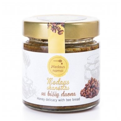 Medaus skanėstas su bičių duona, 200 g
