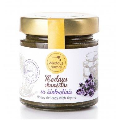 Medaus skanėstas su čiobreliais, 200 g