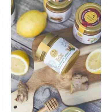 Medaus skanėstas su imbieru ir citrina, 200 g 2