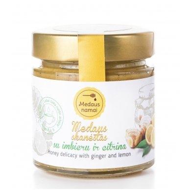 Medaus skanėstas su imbieru ir citrina, 50 g