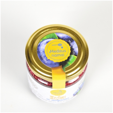Medaus skanėstas su mėlynėmis, 200 g 2