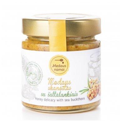 Medaus skanėstas su šaltalankiais, 200 g
