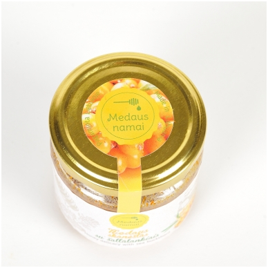 Medaus skanėstas su šaltalankiais, 200 g 2
