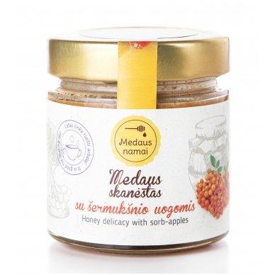 Medaus skanėstas su šermukšnio uogomis, 200 g