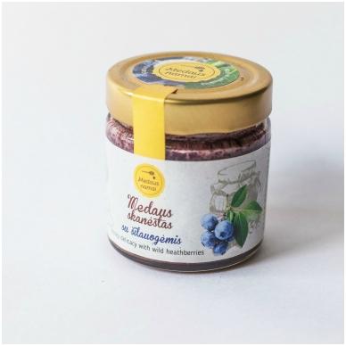 Medaus skanėstas su šilauogėmis, 200 g