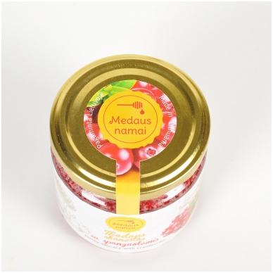 Medaus skanėstas su spanguolėmis, 200 g 2