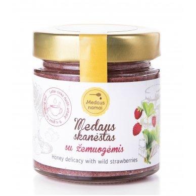 Medaus skanėstas su žemuogėmis, 200 g
