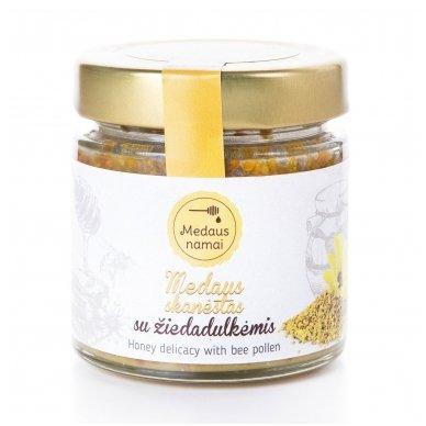 Medaus skanėstas su žiedadulkėmis, 200 g