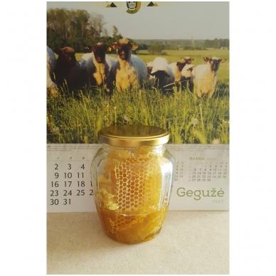 Medus su koriu, ekologiškas 2