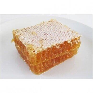 Šviežias medus su koriu, ekologiškas 2