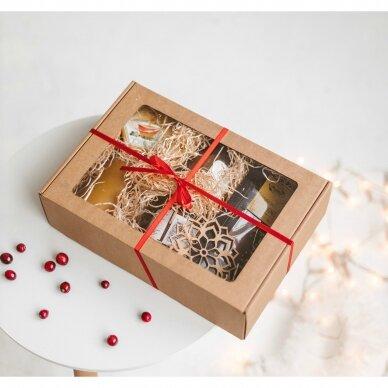 Saldusis rinkinys dovanų dėžutėje (rudos sp.)