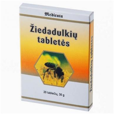Žiedadulkių tabletės